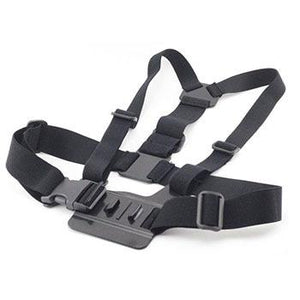 New GP59 Elastic Adjustable Head Strap Mount Belt and Chest Belt Mount Kit For Sports camera Series Action Camera Accessories - jeenostore