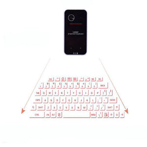 Wireless Bluetooth Virtual Laser Keyboard - jeenostore