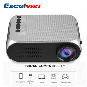 Micro HD Gaming/Streaming Projector - jeenostore