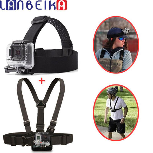 GoPro Headstrap and Chest Mount Bundle - jeenostore