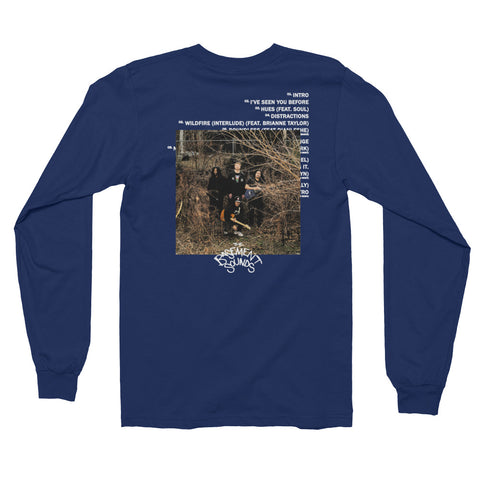 The Basement Sounds Vol: 1 Long sleeve t-shirt
