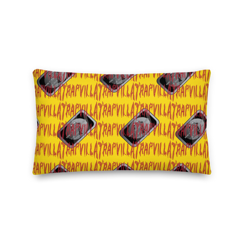 MTA x Trapvilla Throw Pillow