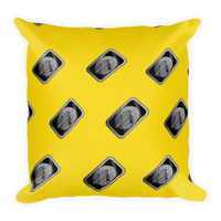 MTA - Black Card Throw Pillow