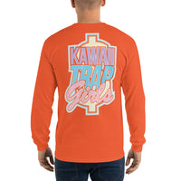 KAWAIITRAPGIRLS - SUPPORT YOUR LOCAL TRAP Long Sleeve T-Shirt