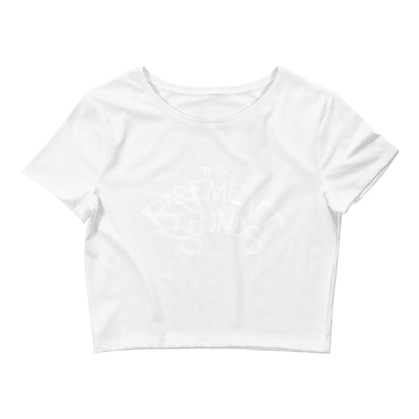 The Basement Sounds Vol:1 Women's Crop Tee