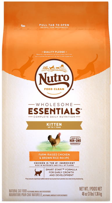 Nutro Kitten - Chicken and Brown Rice