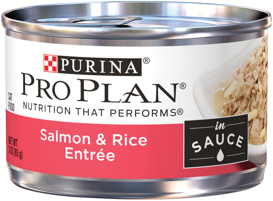 PRO PLAN Savor Adult Wet Entrée Salmon & Rice in Sauce 24 x 85g