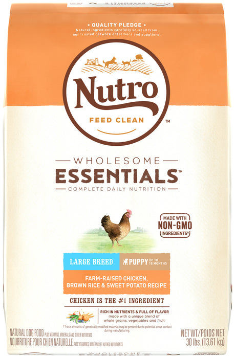 Nutro Puppy Large Breed - Chicken, Rice & Sweet Potato 13.61kg