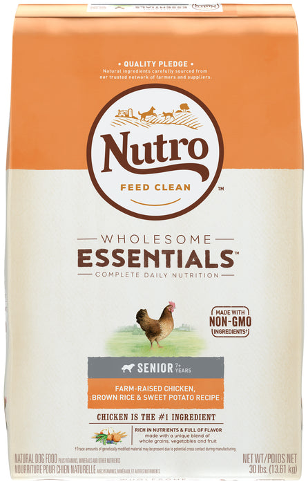 Nutro Senior Dog - Chicken, Rice & Sweet Potato 13.61kg