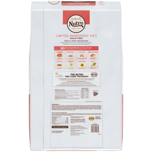 NUTRO Limited Ingredient Diet  Adult All Breed Salmon 9.98kg