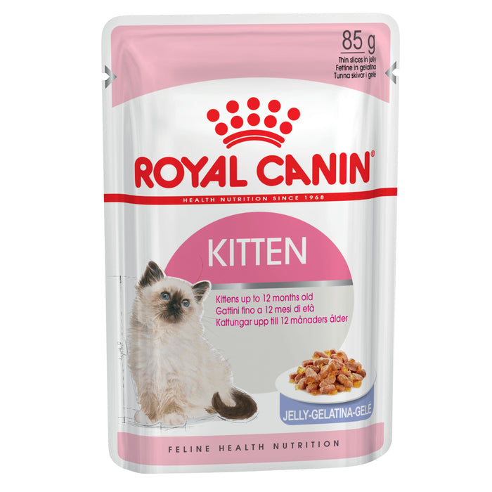 Royal Canin Kitten Instinctive Jelly pouches 12 x 85g