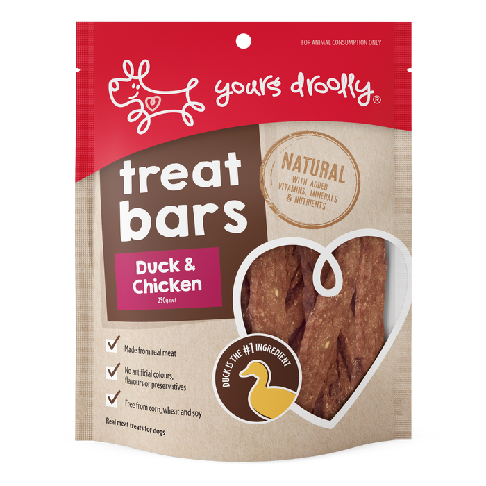 Yours Droolly Duck & Chicken Treat Bars