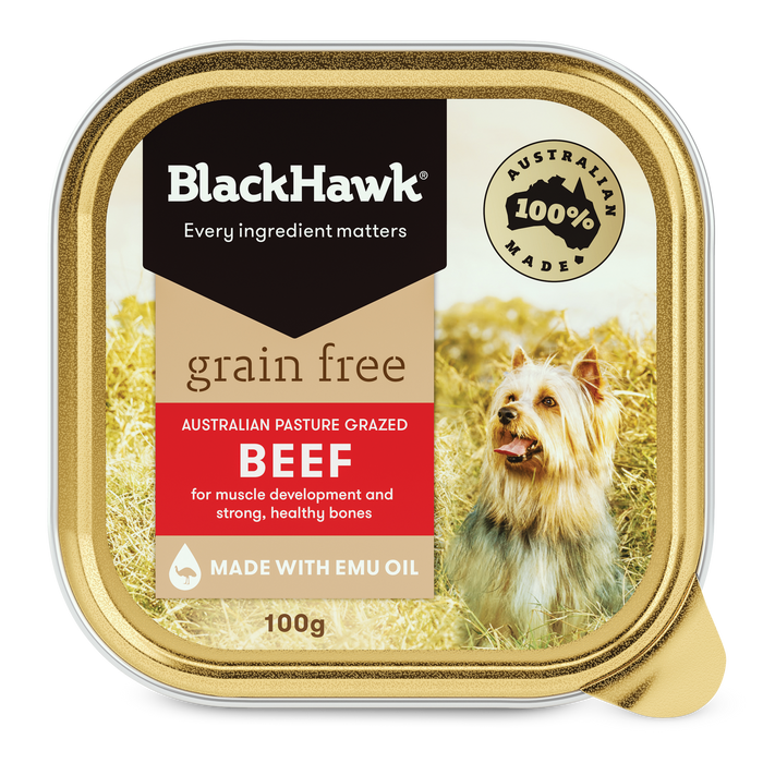 Black Hawk Grain Free Beef