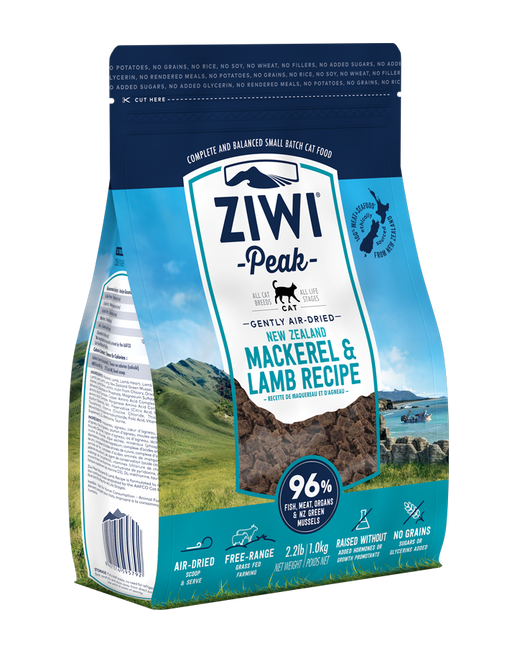 Ziwi Peak Air Dried Mackerel and Lamb Cat Food