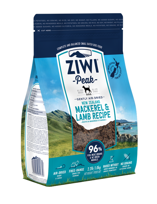 Ziwi Peak Air Dried Mackerel and Lamb Dog Food