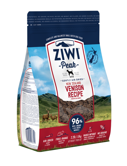 Ziwi Peak Air Dried Venison Dog Food