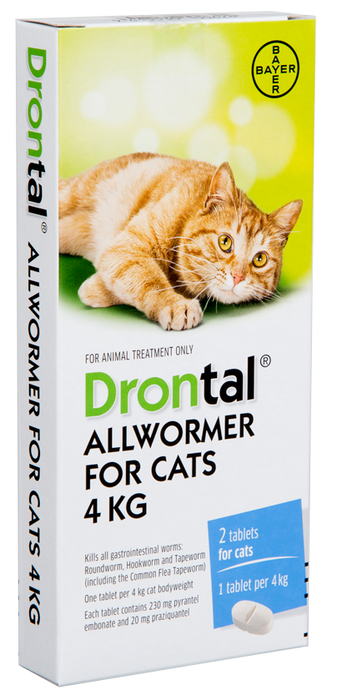 Drontal Worm Treatment For Cats