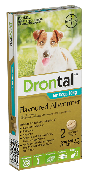 Drontal® Flavoured Allwormer for Dogs