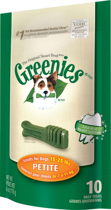 Greenies Original Mini Treat Pack 170g