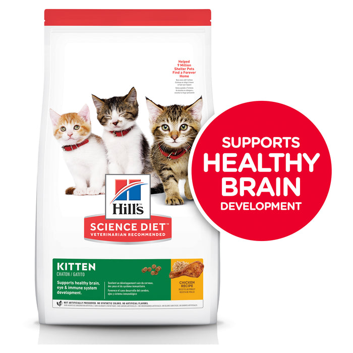 Hill's Science Diet Kitten Dry Cat Food 10kg