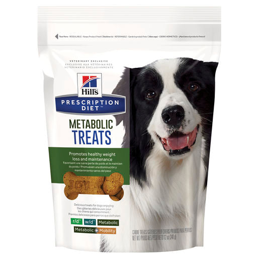 Hill's Prescription Diet Metabolic Weight Management Dog Food Treats 340g