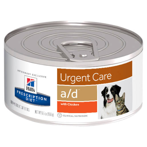 Hill's Prescription Diet a/d Urgent Care Canned Dog/Cat Food 24 x 156g cans