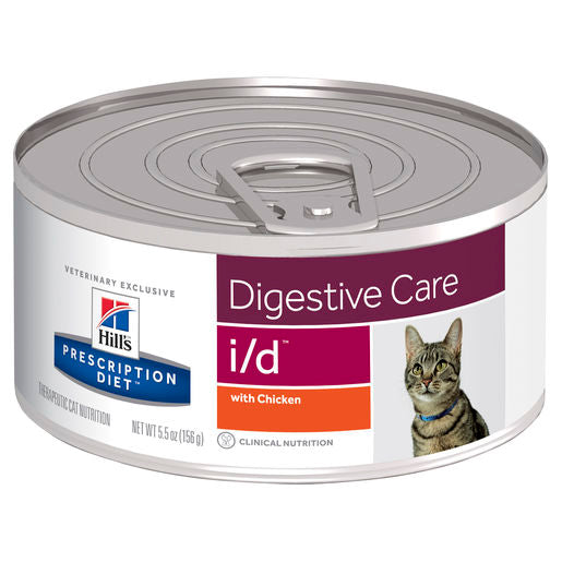 Hill's Prescription Diet i/d Digestive Care Feline 24 x 156g cans