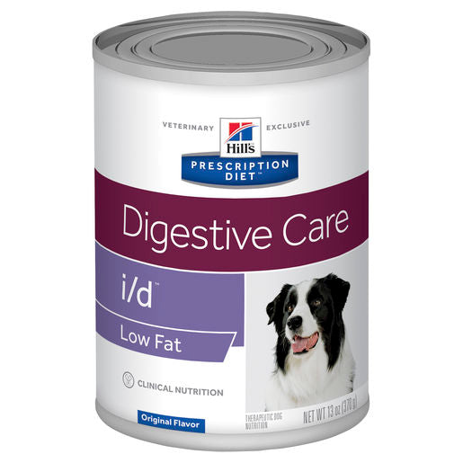 Hill's Prescription Diet i/d Low Fat Digestive Care Canned Dog Food 12 x 370g cans