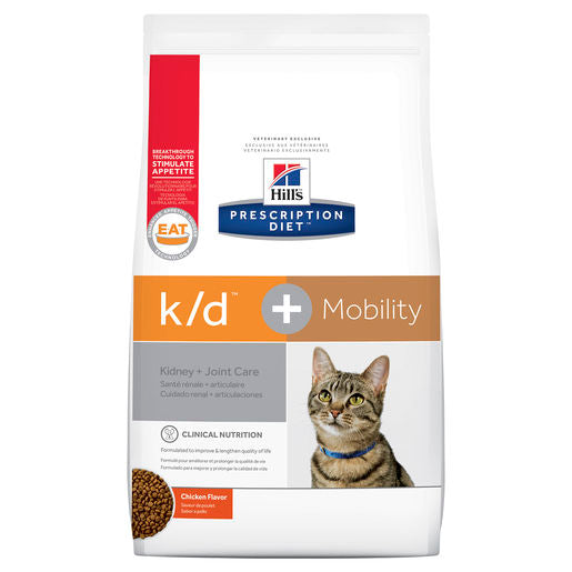 Hill's Prescription Diet k/d Kidney Care + Mobility 2.88kg