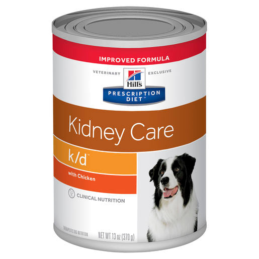 Hill's Prescription Diet k/d Kidney Care with Chicken 12 x 370g cans