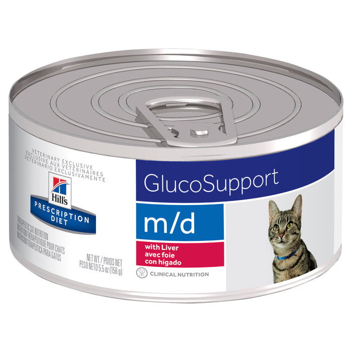 Hill's Prescription Diet m/d GlucoSupport Canned Cat Food 156g