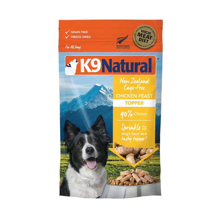 K9 Natural Chicken Feast Topper 100g
