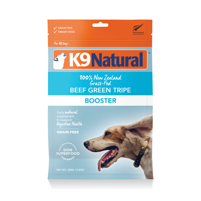 K9 Natural Freeze Dried Beef and Green Tripe Booster 250g