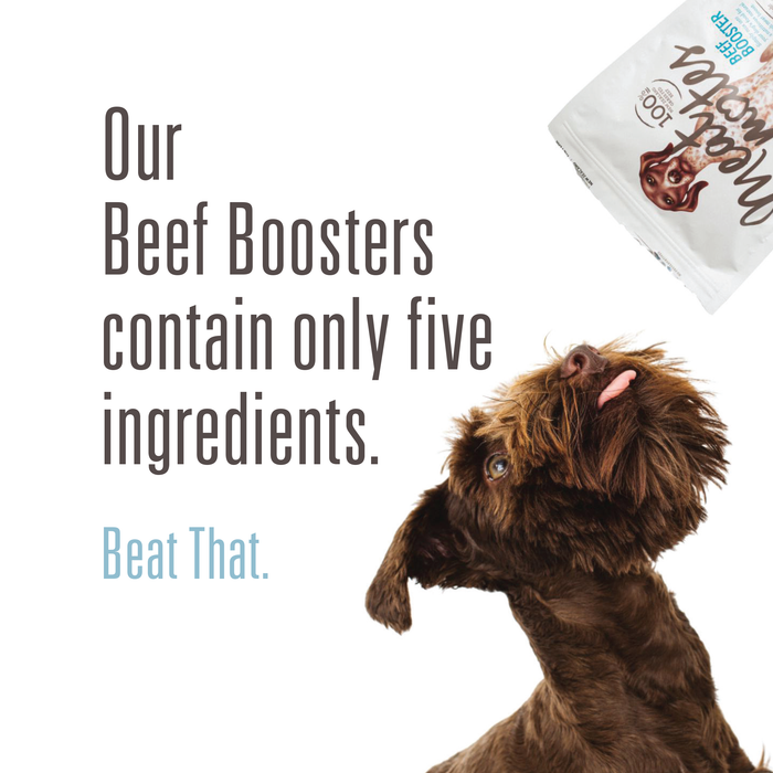 Meat Mates Freeze Dried Beef Booster