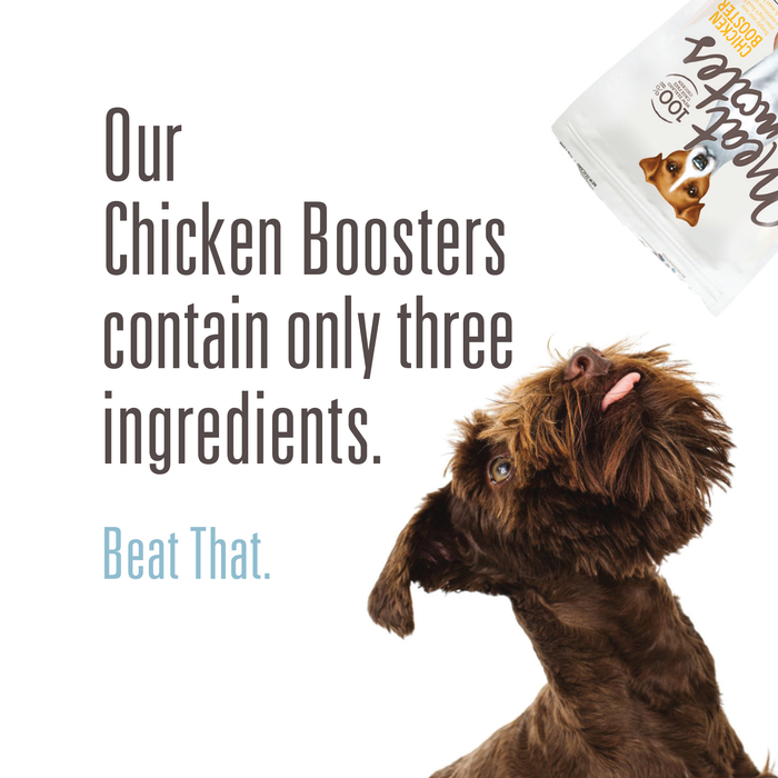 Meat Mates Freeze Dried Chicken Booster