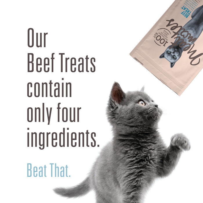 Meat Mates Meow Beef Treats 50g