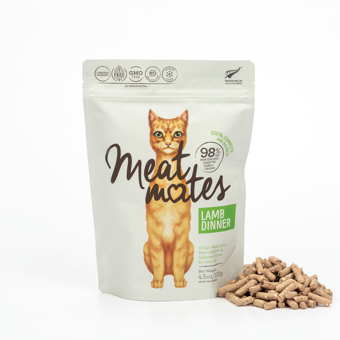 Meat Mates Meow Freeze Dried Lamb Dinner