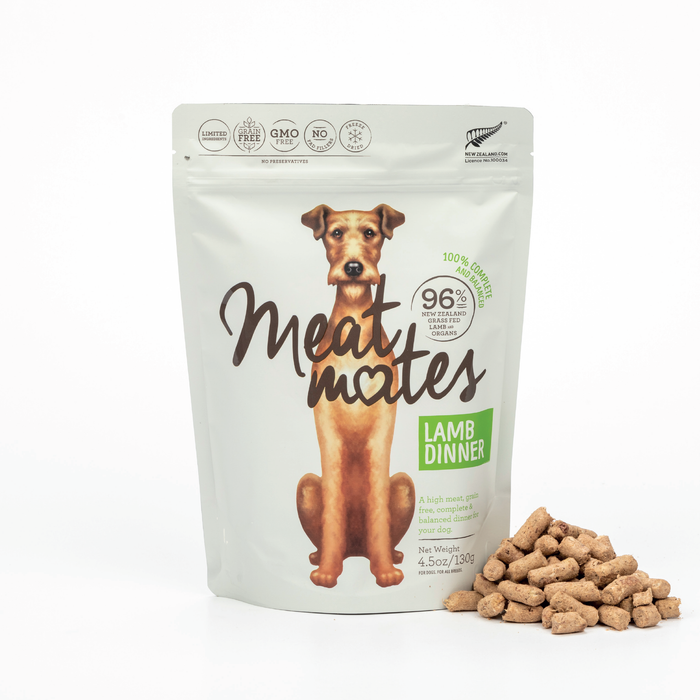 Meat Mates Freeze Dried Lamb Dinner
