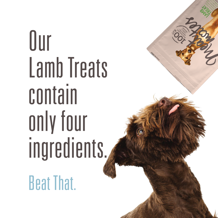 Meat Mates Lamb Treats 50g