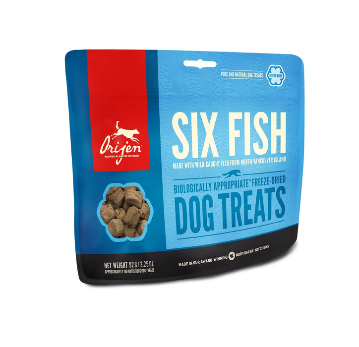 Orijen Freeze Dried Dog Treats - Six Fish