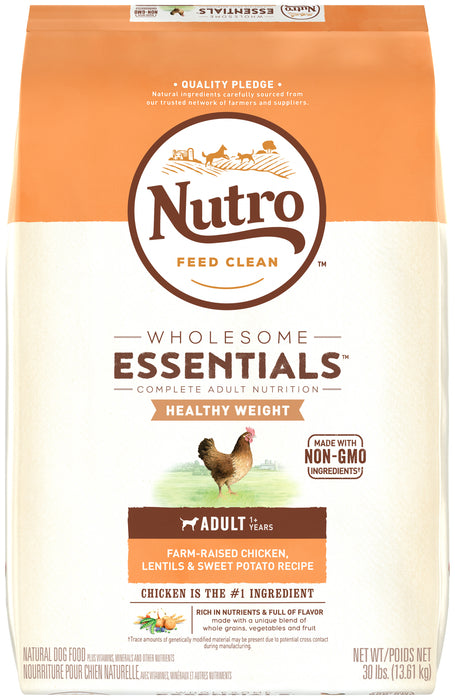 Nutro Wholesome Essentials Adult Healthy Weight Chicken, Rice and Sweet Potato 13.6kg