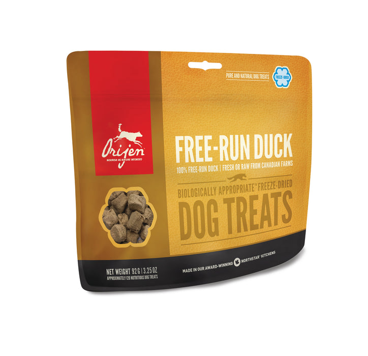Orijen Freeze Dried Dog Treats - Free Run Duck