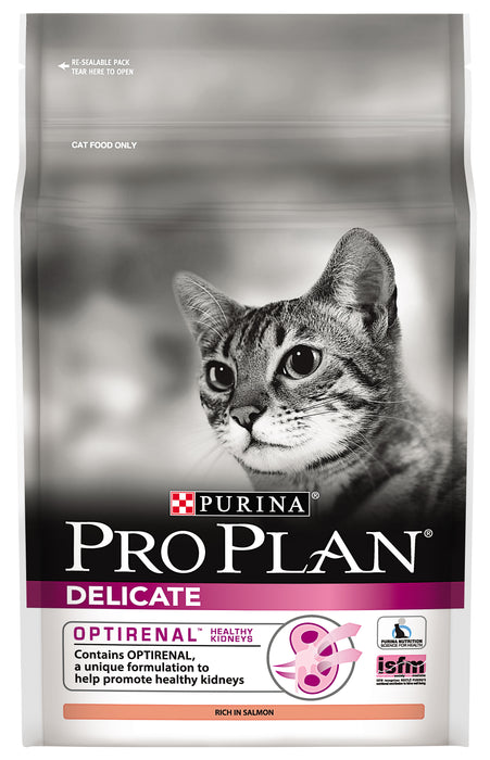 PRO PLAN Adult Delicate with OPTIRENAL Cat Food 2.5kg