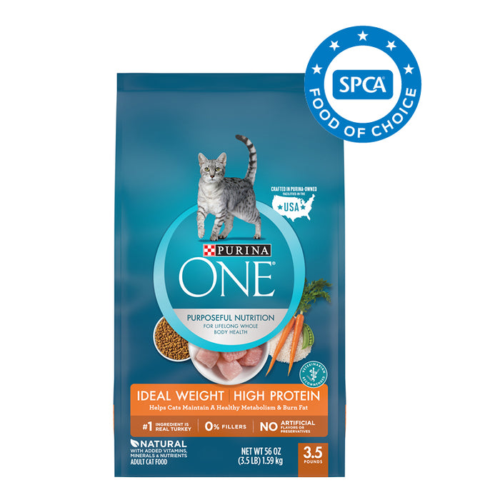 PURINA ONE Ideal Weight Adult Cat Food 1.59kg