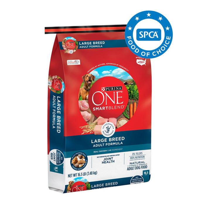 PURINA ONE SMARTBLEND Large Breed Adult Formula Premium Dog Food 7.48kg