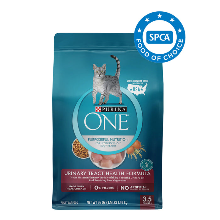 PURINA ONE Urinary Tract Health Formula Adult Cat Food 1.59kg