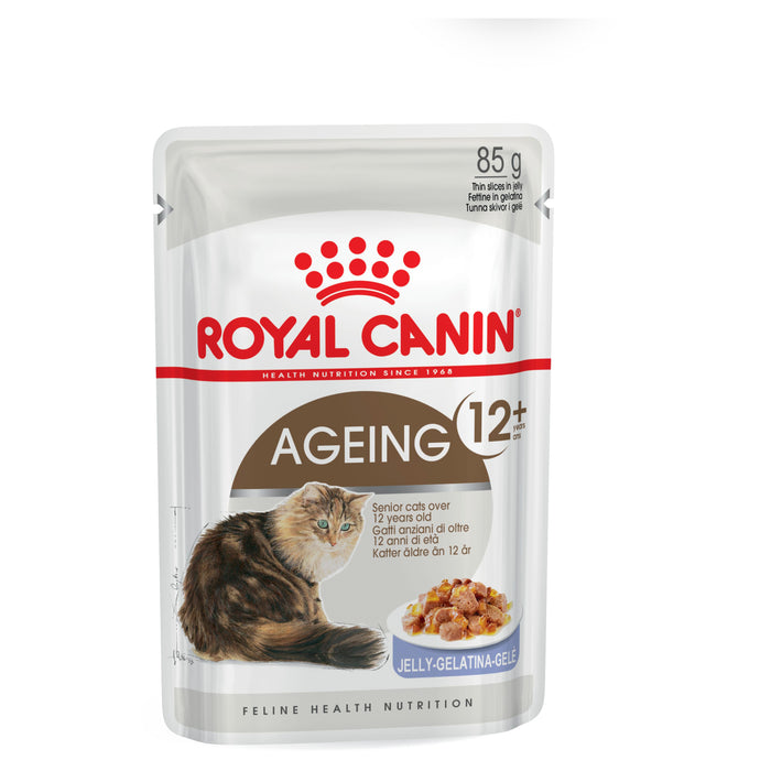 Royal Canin Ageing 12+ Jelly pouches 12 x 85g