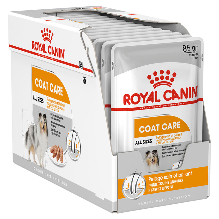 Royal Canin Coat Care Loaf Pouches 12 x 85g