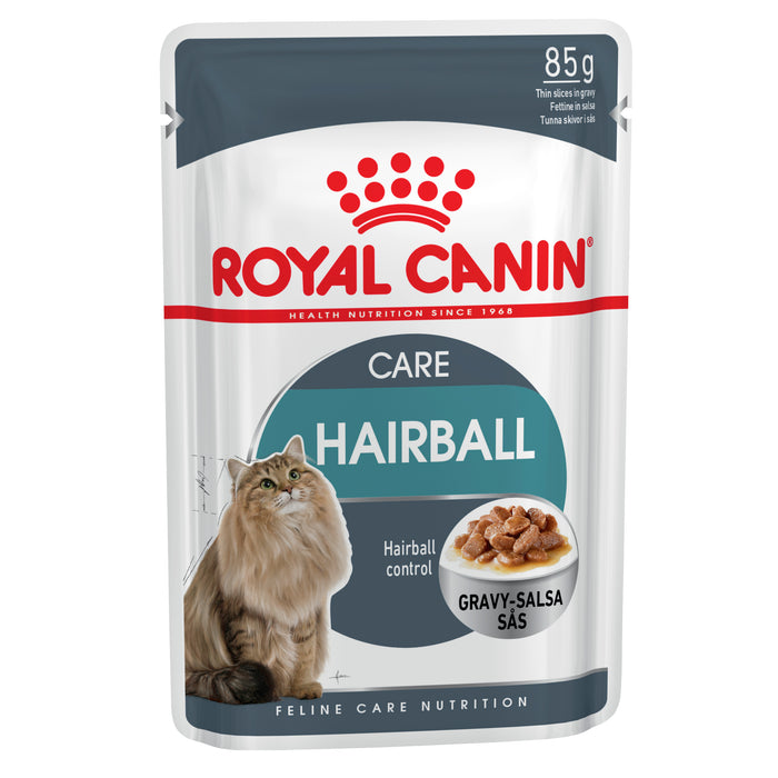 Royal Canin Hairball Care Gravy pouches 12 x 85g