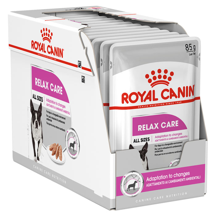 Royal Canin Relax Care Loaf Pouches 12 x 85g